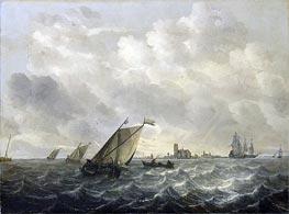 Abraham Beyeren | River View, c.1650/70 | Giclée Canvas Print