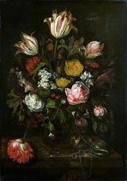 Abraham Beyeren | Still Life with Flowers | Giclée Canvas Print
