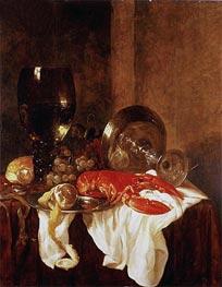 Abraham Beyeren | Still Life with a Lobster | Giclée Canvas Print