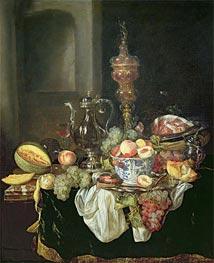 Abraham Beyeren | Still Life - Banquey Piece, Undated | Giclée Canvas Print