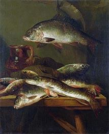 Abraham Beyeren | Still Life with Carp, Undated | Giclée Canvas Print