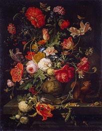 Abraham Mignon | Vase of Flowers, b.1797 | Giclée Canvas Print