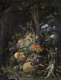 Abraham Mignon | The Fruit Basket, undated | Giclée Canvas Print