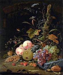 Still Life of a Forest Floor, undated by Abraham Mignon | Giclée Canvas Print