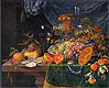 Mignon - Still Life with Fruit and Oysters - Art Print / Posters