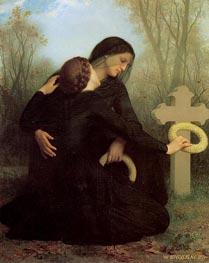 Bouguereau | Le jour des morts (All Saints' Day) | Giclée Canvas Print