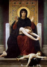 Bouguereau | Vierge consolatrice (Virgin of Consolation) | Giclée Canvas Print