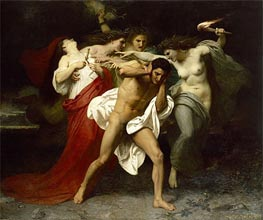 Bouguereau | Orestes Pursued by the Furies | Giclée Canvas Print