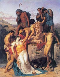 Bouguereau | Zenobia Found by Shepherds on the Banks | Giclée Canvas Print