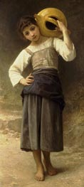 Bouguereau | Young Girl Going to the Fountain | Giclée Canvas Print