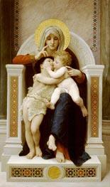 Bouguereau | The Virgin, the Baby Jesus and St. John the Baptist | Giclée Canvas Print