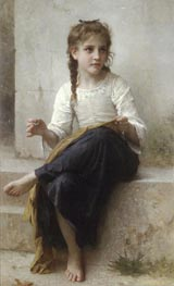 Bouguereau | Sewing | Giclée Canvas Print