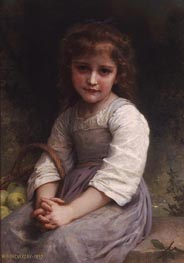 Bouguereau | Apples | Giclée Canvas Print