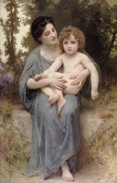 Bouguereau | Little Brother | Giclée Canvas Print