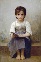 Bouguereau | The Difficult Lesson | Giclée Canvas Print