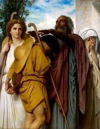 Bouguereau | Tobias Receives his Father's Blessing | Giclée Canvas Print