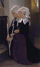 Bouguereau | Le Voeu a Sainte-Anne-D'auray, 1869 | Giclée Canvas Print