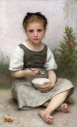 Bouguereau | Morning Breakfast, 1887 | Giclée Canvas Print