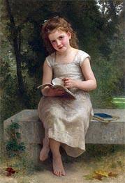 Bouguereau | The Reading, 1895 | Giclée Canvas Print