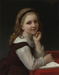 Bouguereau | Distraction, 1868 | Giclée Canvas Print