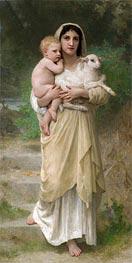 Bouguereau | The Lamb, 1897 | Giclée Canvas Print