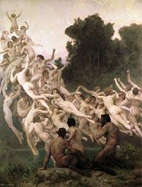 Bouguereau | The Oreads, 1902 | Giclée Canvas Print