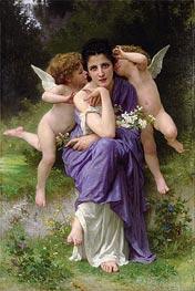 Bouguereau | Songs of Spring, 1889 | Giclée Canvas Print
