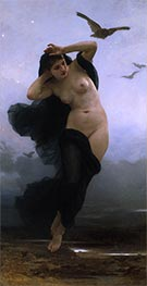 Night, 1883 by Bouguereau | Giclée Canvas Print