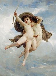 Cupid Victorious, 1886 by Bouguereau | Giclée Canvas Print