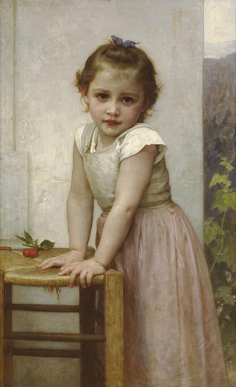 Yvonne, 1896 | Bouguereau | Painting Reproduction