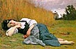 Bouguereau - Rest in Harvest - Art Print / Posters