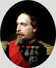 Adolphe Yvon | Napoleon III, 1868 | Giclée Canvas Print