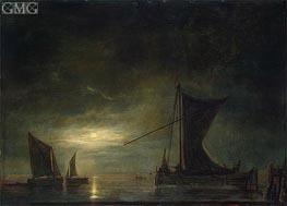 Aelbert Cuyp | The Sea by Moonlight | Giclée Canvas Print