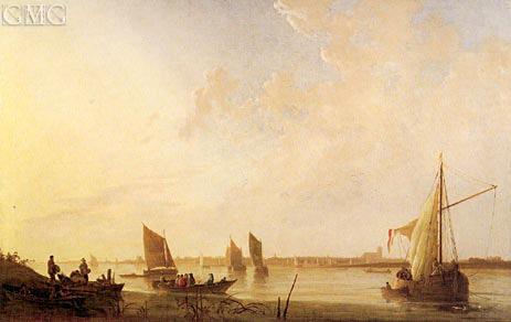 Dordrecht: Sunrise, c.1650 | Aelbert Cuyp | Painting Reproduction