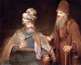 Aert de Gelder | Nathan admonishes King David, 1683 | Giclée Canvas Print