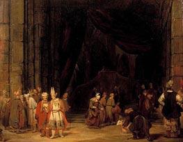Aert de Gelder | The Forecourt of the Temple, 1679 | Giclée Canvas Print