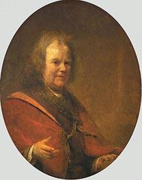 Aert de Gelder | Portrait of Herman Boerhaave | Giclée Canvas Print