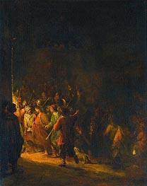 Aert de Gelder | The Arrest of Christ, 1727 | Giclée Canvas Print