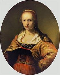 Aert de Gelder | Portrait of a Young Woman, undated | Giclée Canvas Print