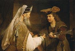 Aert de Gelder | Ahimelech Giving the Sword of Goliath to David, c.1680 | Giclée Canvas Print