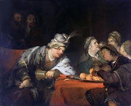 Aert de Gelder | The Banquet of Ahasuerus, 1680s | Giclée Canvas Print