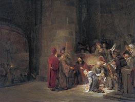 Aert de Gelder | Christ and the Woman taken in Adultery, 1683 | Giclée Canvas Print