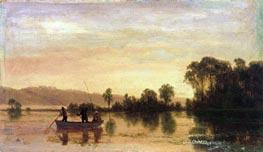 Bierstadt | River Scene | Giclée Canvas Print