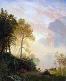 Bierstadt | The Merced River in Yosemite | Giclée Canvas Print