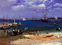 Bierstadt | Nassau Harbor, c.1877 | Giclée Canvas Print