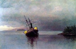 Bierstadt | Wreck of the 'Ancon' in Loring Bay, Alaska, 1889 | Giclée Canvas Print
