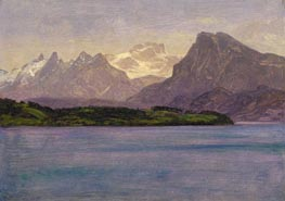 Bierstadt | Alaskan Coast Range, c.1889 | Giclée Canvas Print