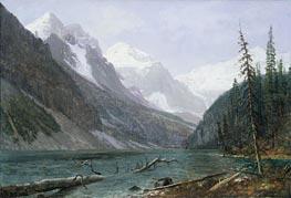 Bierstadt | Canadian Rockies, Lake Louise, c.1889 | Giclée Canvas Print