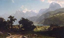 Bierstadt | Lake Lucerne, 1858 | Giclée Canvas Print