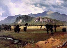 Bierstadt | Moat Mountain, Intervale, New Hampshire, c.1862 | Giclée Canvas Print